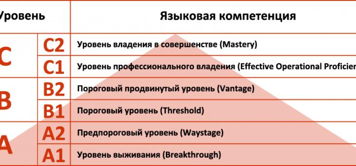 Какой ваш уровень владения английским языком?
